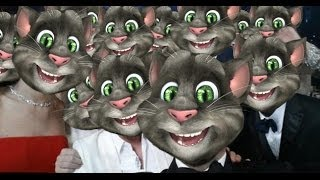 Talking Tom Oscars Selfie Breaks Twitter?!