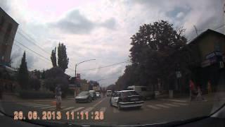 Cum circula politia MAI 5030 in Orhei