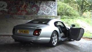 TVR Cerbera revving & tunnel acceleration
