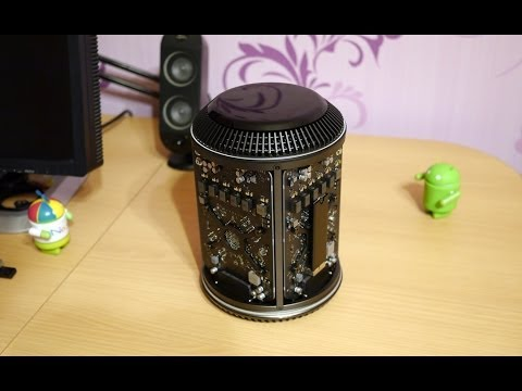 Обзор Apple Mac Pro 2013: распаковка