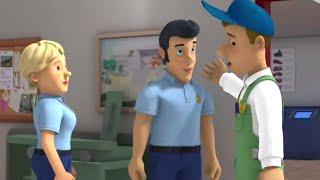 Požiarnik Sam - Mike pomáha
