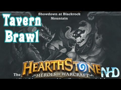 Let's Play Hearthstone Tavern Brawl [Showdown at Blackrock Mountain] (Golden Legendary Reward)