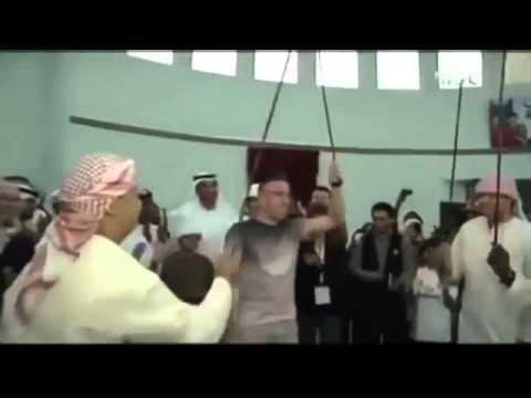 ريبيري يرقص على الأنغام الاماراتية
