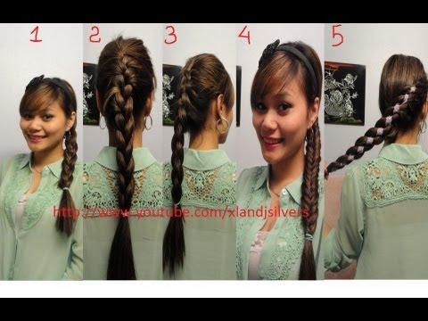 Hướng dẫn tóc : 5 kiểu tết tóc xinh