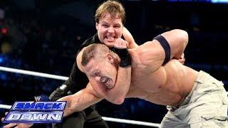 Cena & CM Punk Vs. The Shield 2-on-3 Handicap Match