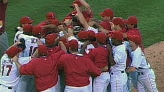 2002 ALDS Gm4: Angels defeat Yankees