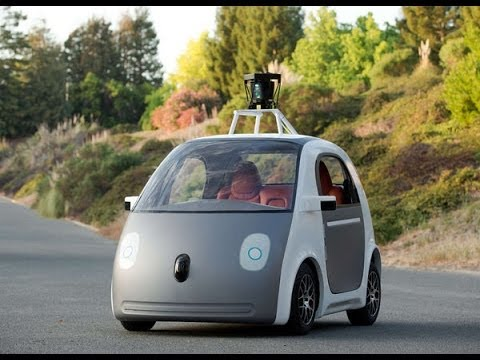 WATCH EXCLUSIVE VIDEO: Google's New Driverless Car Has No Brake Pedal Or Steering Wheel