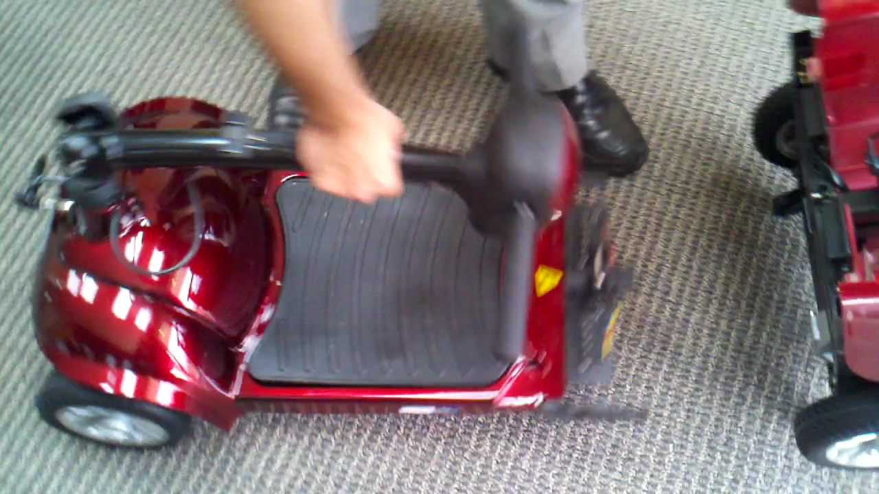 how to put together scooter