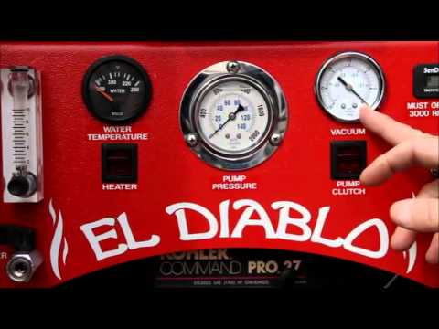 El Diablo TruckMount Diesel Cleaning Equipment