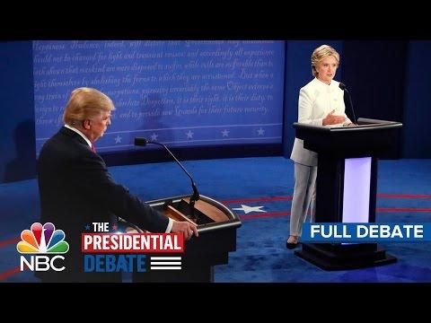 The Third Presidential Debate: Hillary Clinton And Donald Trump (Full Debate)   NBC News