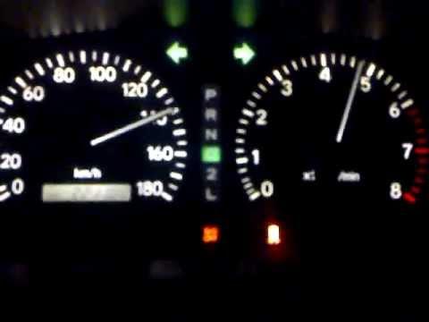 Разгон Toyota Chaser с двигателем 1JZ-GE от 0-175 км/ч