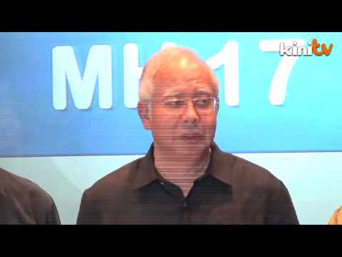MH17: Najib demands 'swift justice'