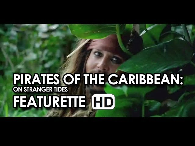"Johnny Depp ""Jack and Angelica"" Featurette Pirates of the Caribbean: On Stranger Tides (2011) HD"