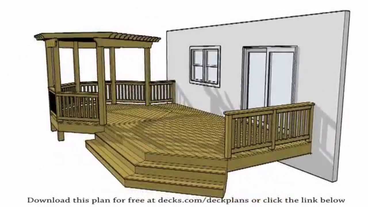 Deck plans 100 39 s of free plans available for the diy for Free deck designer online