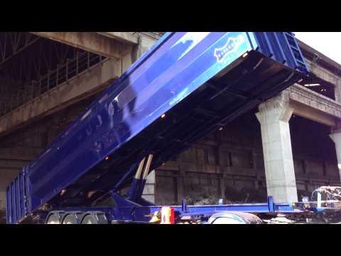 ΚΑΞΕΚΩ Ανατρεπόμενη νταλίκα 12,20m (scrap) 2