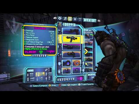 Borderlands 2 -Kill Pyro-Pete In seconds w/ Krieg -LEGIT