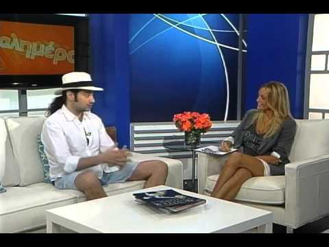 Constantine Maroulis on Kalimera USA