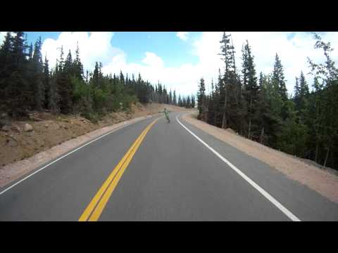 Pikes Peak Downhill 1st person view Full Run
