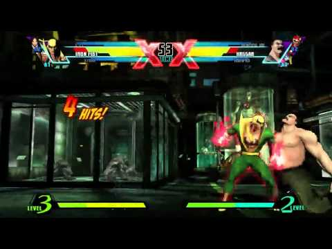 TGS 2011: Ultimate Marvel vs Capcom 3 - Iron Fist Trailer (PS3, VITA, Xbox 360)