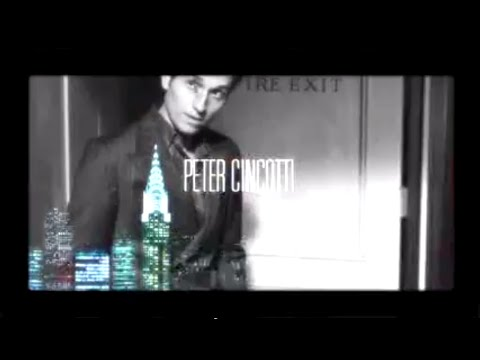 Peter Cincotti- East of Angel Town Promo Clip