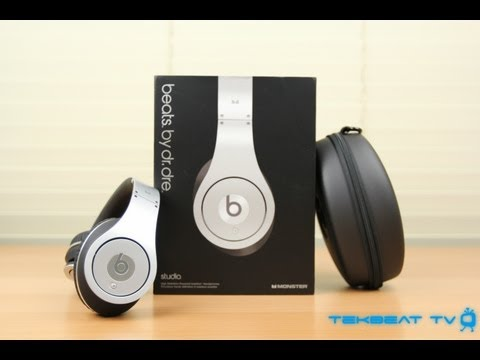 Beats by Dr. Dre Studio Silver Edition Unboxing!