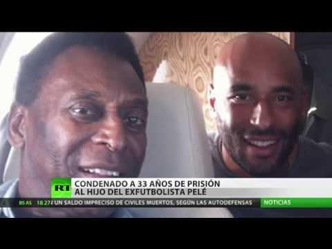 Condenan a 33 años de prisión a uno de los hijos de Pelé por lavado de dinero