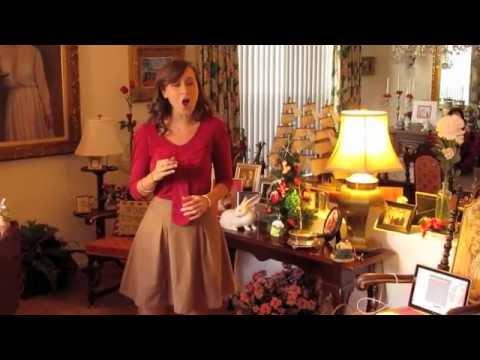 """Hình ảnh trong video Lauren Jelencovich """"O Holy Night"""" - Christmas"""
