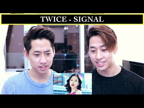 youtube video TWICE - SIGNAL MV REACTION 트와이스 (TWINS REACT) to 3GP conversion