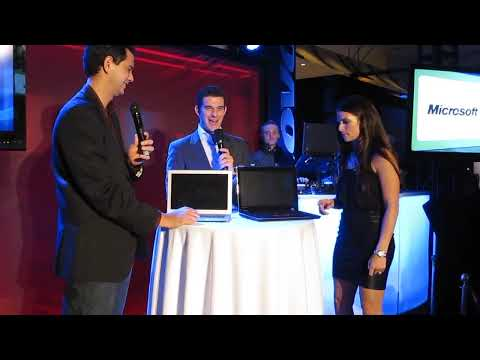 Danica Patrick Boots Up the Fastest Windows 7 PC in the World at the Lenovo Lounge