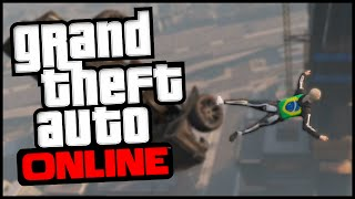 GTA V Online SALTO INSANO No Maze Bank Tower! (BDP #5