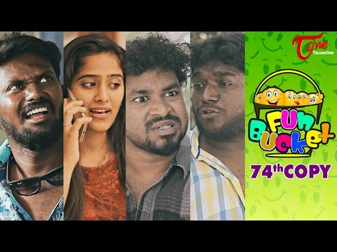 Fun Bucket | 74th Copy | Funny Videos | by Harsha Annavarapu | #TeluguComedyWebSeries