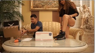 SOMEONE SENT PHOENIX SUNS SHOES?! (PO BOX OPENING)