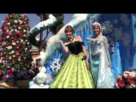 FULL NEW Festival of Fantasy Parade debut at Magic Kingdom, Walt Disney World on Main Street USA