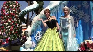 "FULL ""Frozen"" Festival Of Fantasy Parade At Magic Kingdom"
