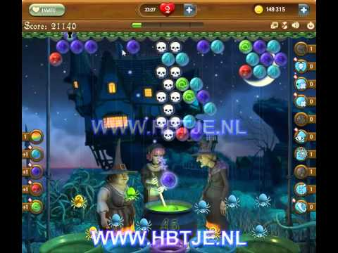 Bubble Witch Saga level 135