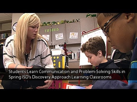 Students Learn Communication and Problem-Solving Skills in Discovery Approach Learning Classrooms