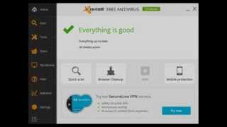 Avast Free Antivirus 2014 Version 2014.9.0.2011