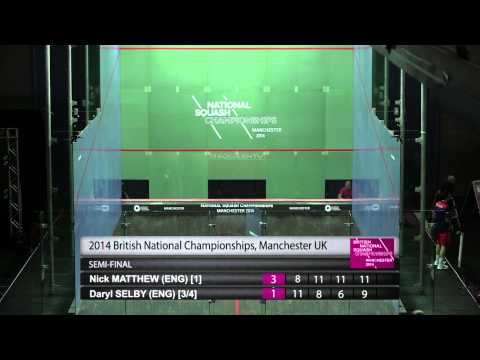 Squash : British National Championships - SF Men's Roundup