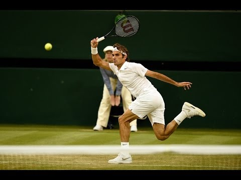 Highlights Day 4: Federer destroys Muller - Wimbledon 2014