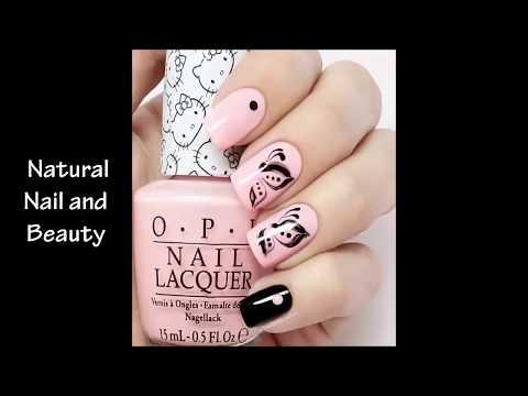 Nghệ thuật vẽ móng tay đẹp – mẫu nail đẹp tự nhiên [Part 1]