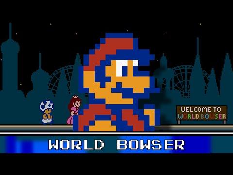 World Bowser 8 Bit - Super Mario 3D World