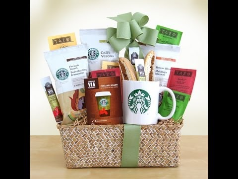 La Bella Baskets ~ Starbucks Coffee Gift Shop By Kim's La Bella Gift Baskets