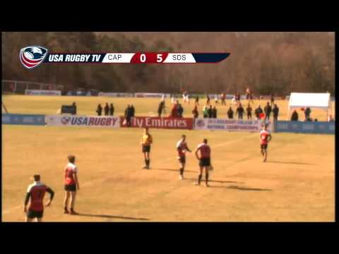 2013 USA Rugby College 7s National Championship: Cal Poly vs San Diego State
