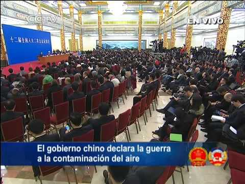 13 Periodista de Radio Internacional de China  Luchar contra la contaminación CCTV International