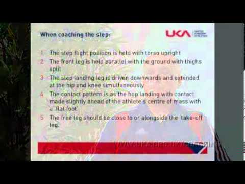 Triple Jump Coaching Learn to Teach Triple Jump Part 4