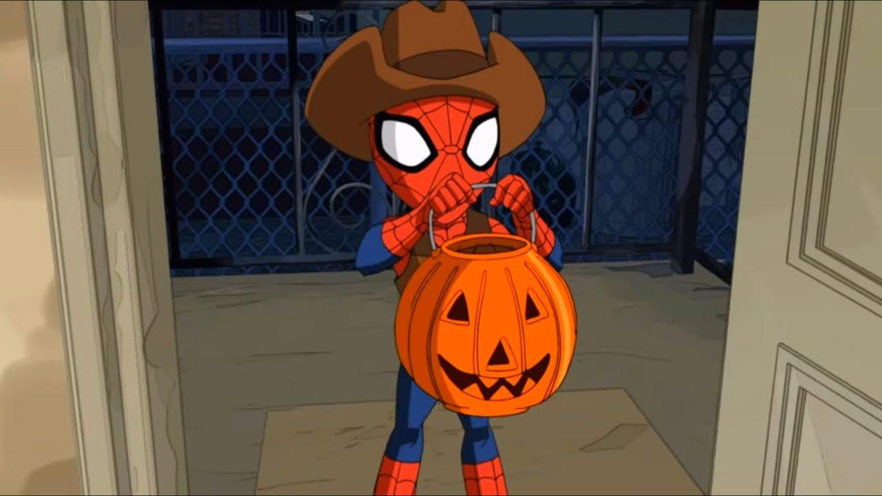 великий человек-паук картинки