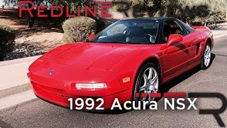 Redline Review: 1992 Acura NSX