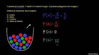 Verjetnost 8 – barvne kroglice
