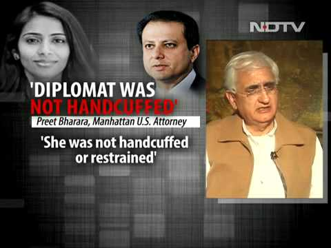 We deal with US State Department, not with Preet Bharara  Salman Khurshid