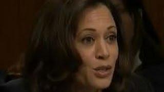 Kamala Harris stuns colleagues embarrasses herself at CIA confirmation hearing